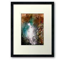 Cold Mountain Sunset Framed Print