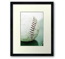 the game ended in a draw Framed Print
