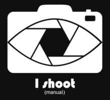 I Shoot manual - white by AudraJS