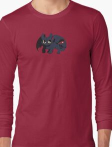 Snaggle Toothless Long Sleeve T-Shirt