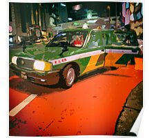 Tokyo Night Taxi Poster