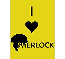 Love Sherlock Photographic Print