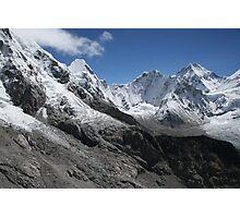 Horseshoe at Everest Basecamp Photographic Print