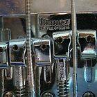 Bass Guitar iPhone case by virginian