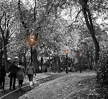 Almost Colourless October  by BadIdeaArt