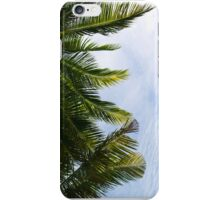 Palm Fronds and Blue Sky iPhone Case/Skin