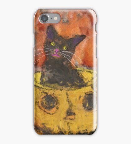 Harvest Cat iPhone Case/Skin