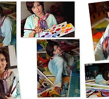 Artist at work by asifphoto