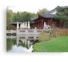 Chinese Teahouse Canvas Print