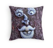 Funny face (for Guendalyn) Throw Pillow
