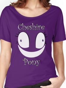 Cheshire Pony with text Women's Relaxed Fit T-Shirt