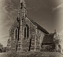 Neenton Church by David J Knight