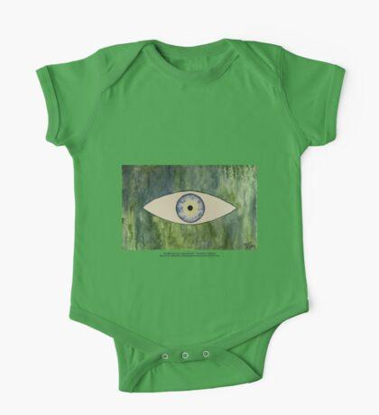 Sea Monster Eye   (t-shirt) Kids Clothes