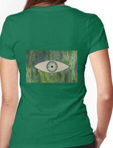 Sea Monster Eye   (t-shirt) Womens Fitted T-Shirt