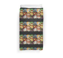 .::Noteable Dragons::. Duvet Cover