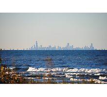 Chicago Skyline across Lake Michigan - 1 Photographic Print