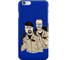 Mythbusters Ghostbusters iPhone Case/Skin