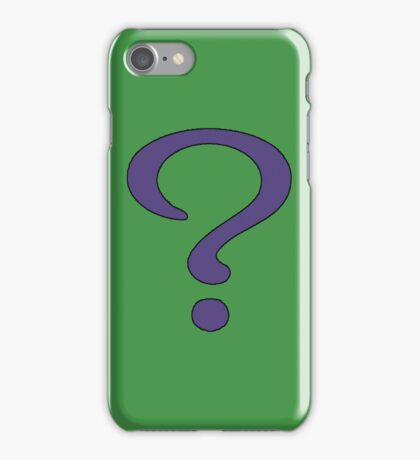 Riddler Skin iPhone Case/Skin