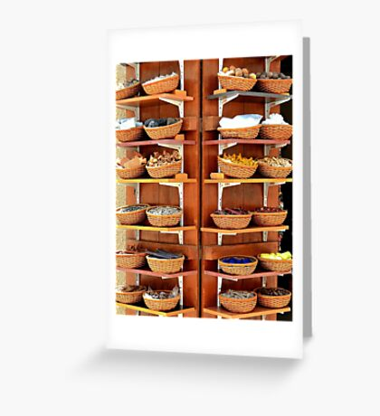 The Spice of Life Greeting Card