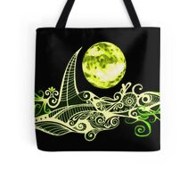 Card - Lunar Sailing - Lime Tote Bag