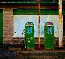 """Flying """"A"""" Gas Station by Chris Lord"""