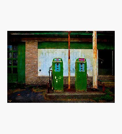 """Flying """"A"""" Gas Station Photographic Print"""