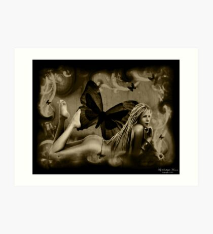 "Angel Series I - ""Soullight Mirrors"" Art Print"