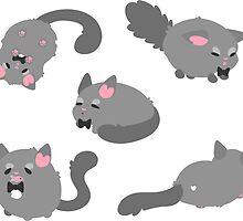 Mr. Bowtie Kitty by Okida