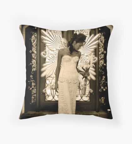 "Angel Series I - ""Soullight Mirrors"" Throw Pillow"