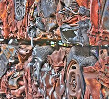 Wall of Cars by Maggie Lowe