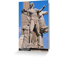 Rome Statues 2 Greeting Card