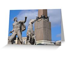 Rome Statues 3 Greeting Card