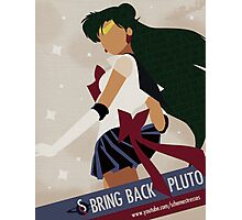 Bring Back Pluto Photographic Print