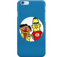 Leonard and Sheldon Muppets iPhone Case/Skin
