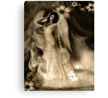 "Angel Series I - ""Soullight Mirrors"" Canvas Print"