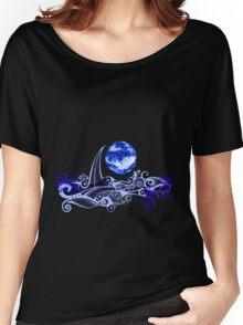 Tshirt - Lunar Sailing - Ultramarine Women's Relaxed Fit T-Shirt
