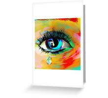 Love hurts, boys lie! Greeting Card