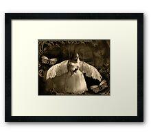 "Angel Series I - ""Soullight Mirrors"" Framed Print"