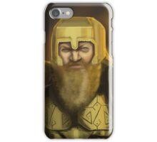 Dwarven Warrior iPhone Case/Skin