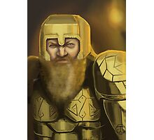 Dwarven Warrior Photographic Print