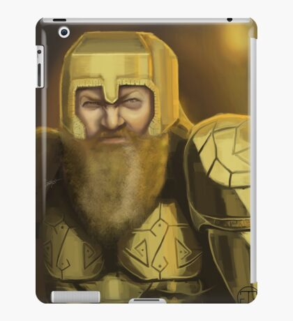 Dwarven Warrior iPad Case/Skin