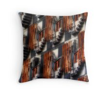 Scottish Parliament, Holyrood, Edinburgh Throw Pillow