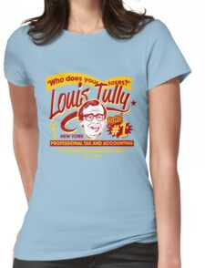 Louis Tully Accounting Womens Fitted T-Shirt