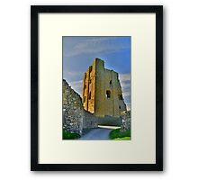 Yorkshire: Scarborough Castle Framed Print