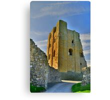 Yorkshire: Scarborough Castle Canvas Print