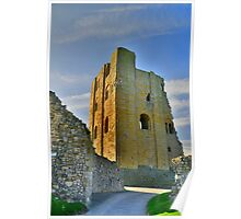 Yorkshire: Scarborough Castle Poster