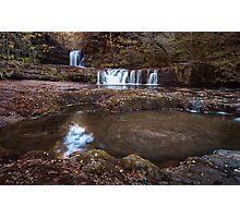 Sgwd Ddwli Isaf waterfalls South Wales Photographic Print