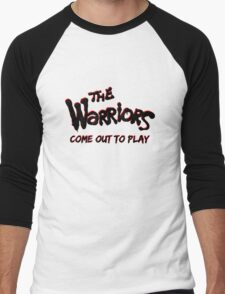 """The Warriors """"Come out to Play"""" Men's Baseball ¾ T-Shirt"""