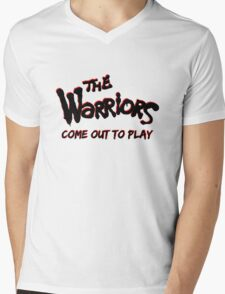 """The Warriors """"Come out to Play"""" Mens V-Neck T-Shirt"""
