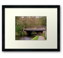 Canal Bridge Framed Print